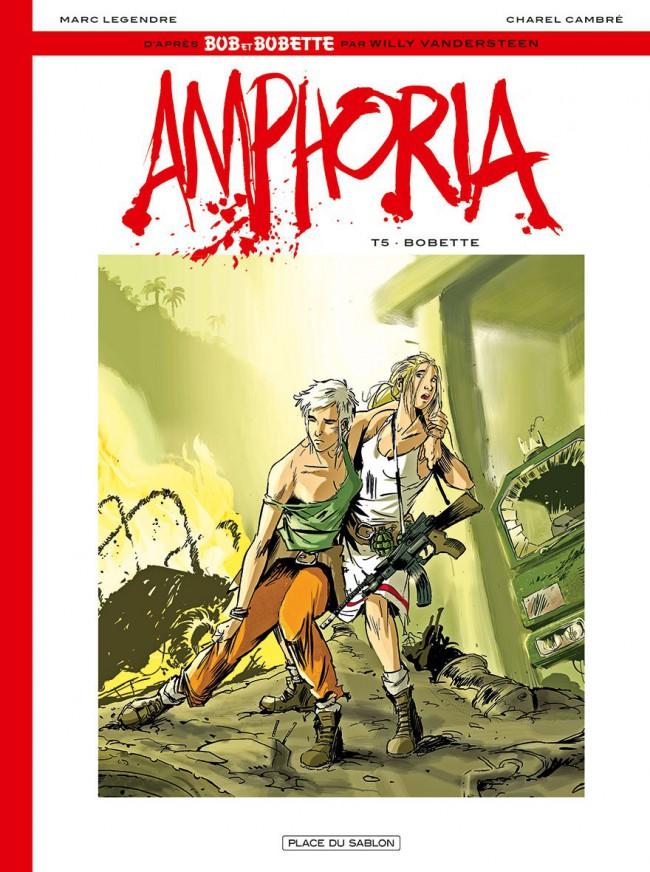 Couverture de Bob et Bobette : Amphoria -5- Bobette