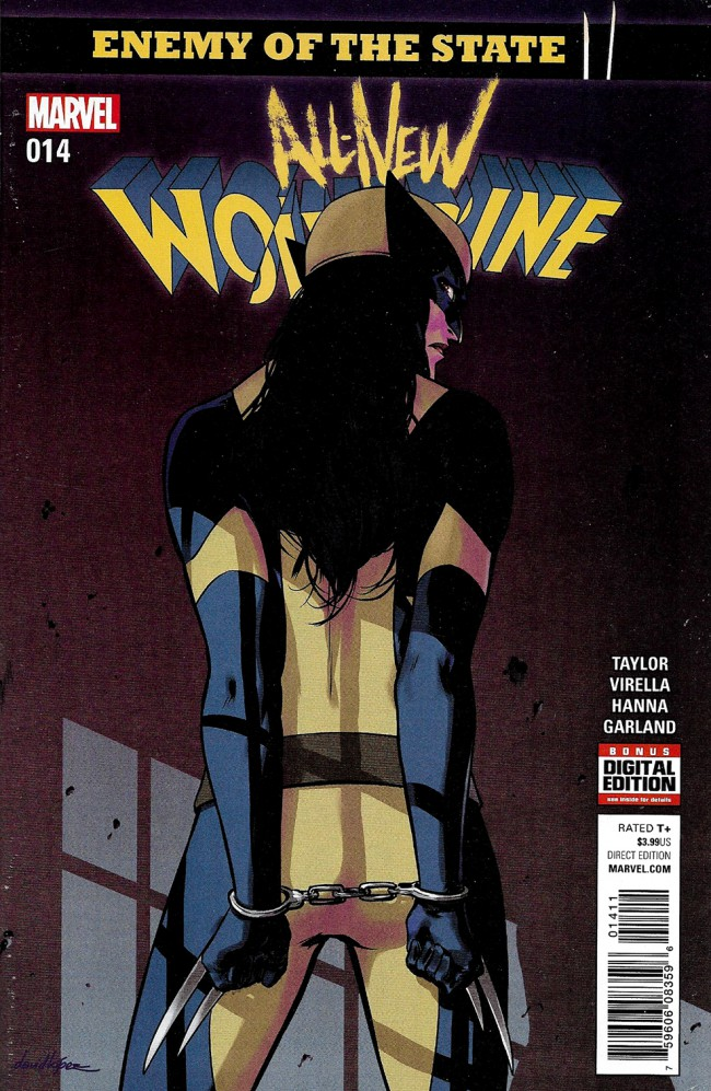 Couverture de All-New Wolverine (2016) -14- Enemy Of The State II