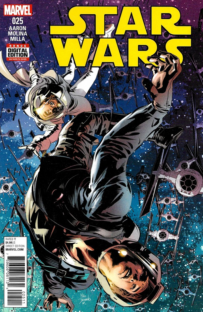 Couverture de Star Wars Vol.2 (Marvel comics - 2015) -25- Book V, Part V : The Last Flight Of The Harbinger