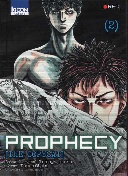 Couverture de Prophecy [The Copycat] -2- Tome 2