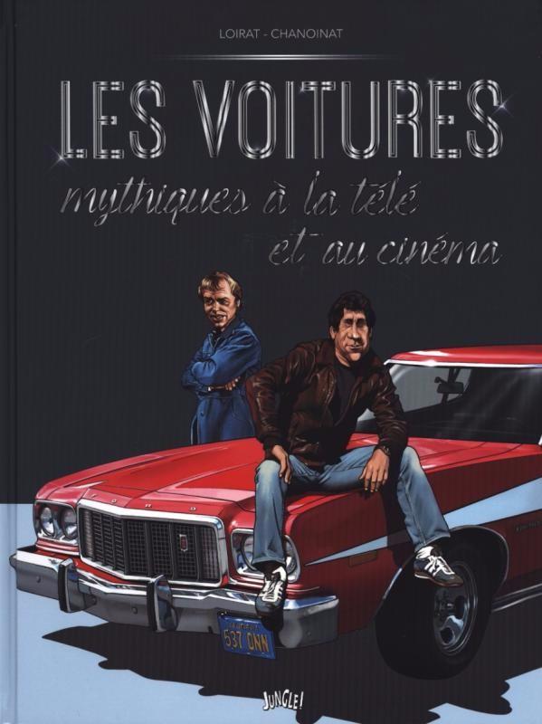 Couverture de (AUT) Loirat -2- Les voitures mythiques à la télé et au cinéma