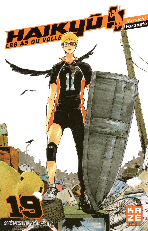 Couverture de Haikyu !! Les As du Volley -19- Tome 19