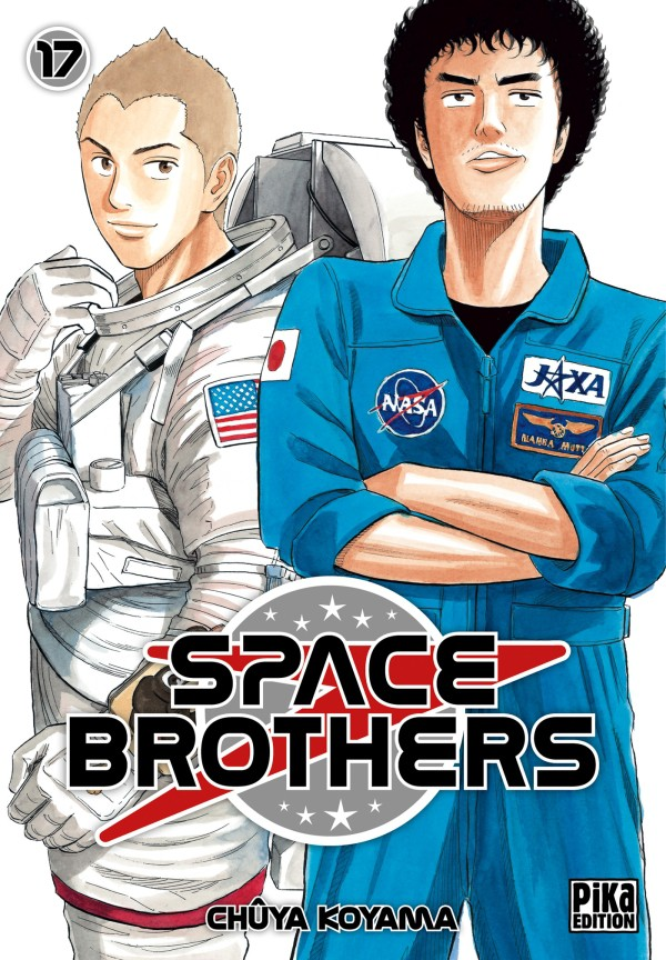Couverture de Space Brothers -17- Tome 17