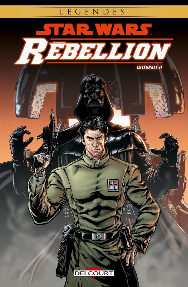 Couverture de Star Wars - Rébellion -INT02- Intégrale II