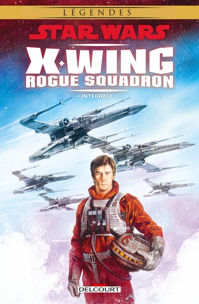 Couverture de Star Wars - X-Wing Rogue Squadron (Delcourt) -INT01- Intégrale I