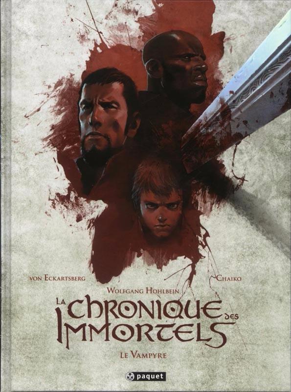Couverture de La chronique des Immortels -INT02- Le Vampyre