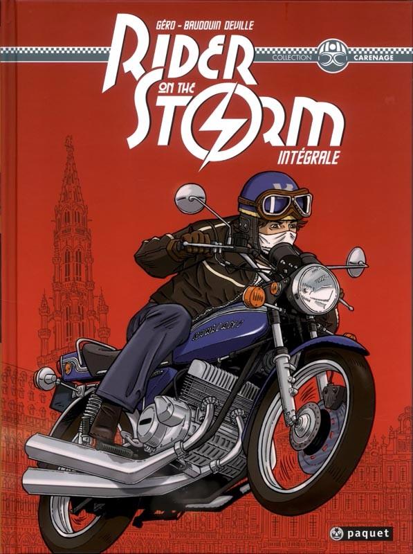 Couverture de Rider on the storm -INT- Intégrale