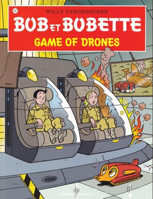 Couverture de Bob et Bobette -337- Game of drones