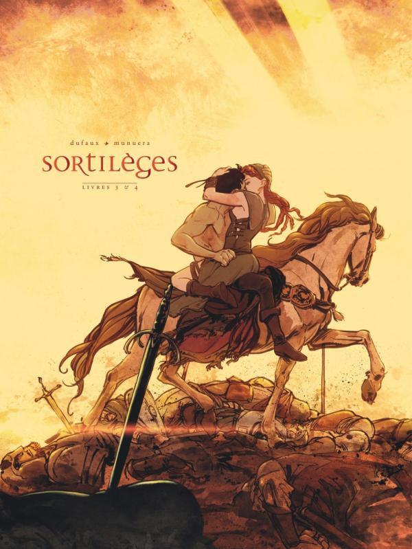 Couverture de Sortilèges (Dufaux/Munuera) -INT2- Livres 3 & 4