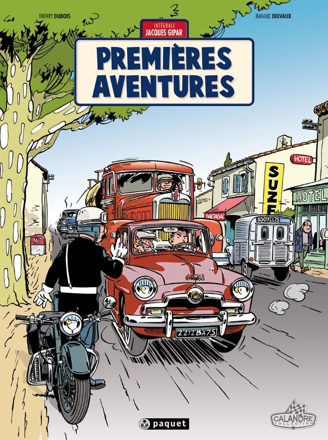 Couverture de Jacques Gipar (Une aventure de) -INT01- Premières aventures