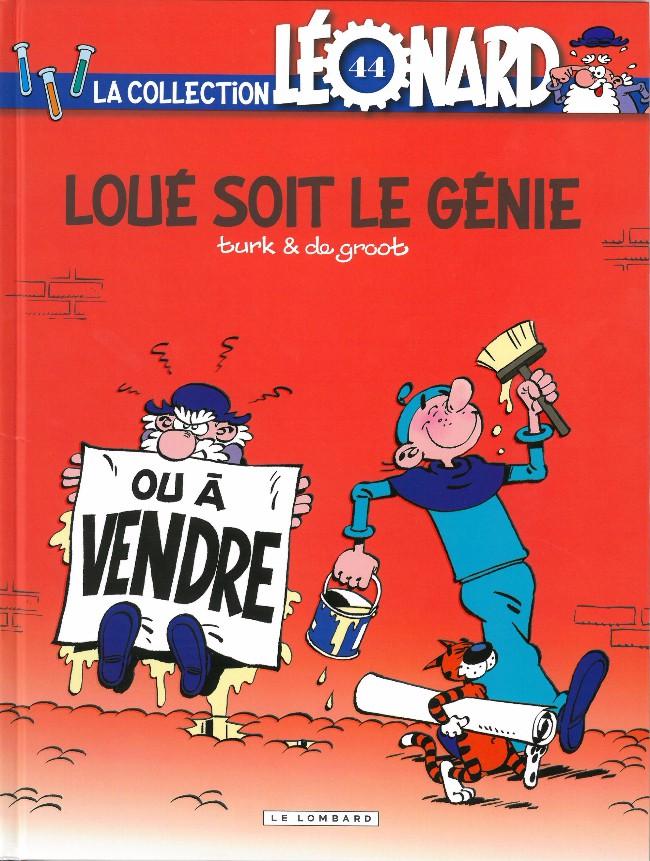 Couverture de Léonard - La Collection (Prisma Media) -4439- Loué soit le génie