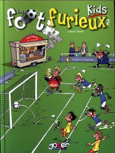 Couverture de Les foot Furieux Kids -2- Tome 2