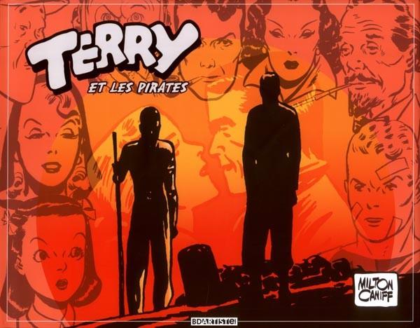 Couverture de Terry et les pirates (BDartiste) -4- Volume 4 : 1941 à 1942
