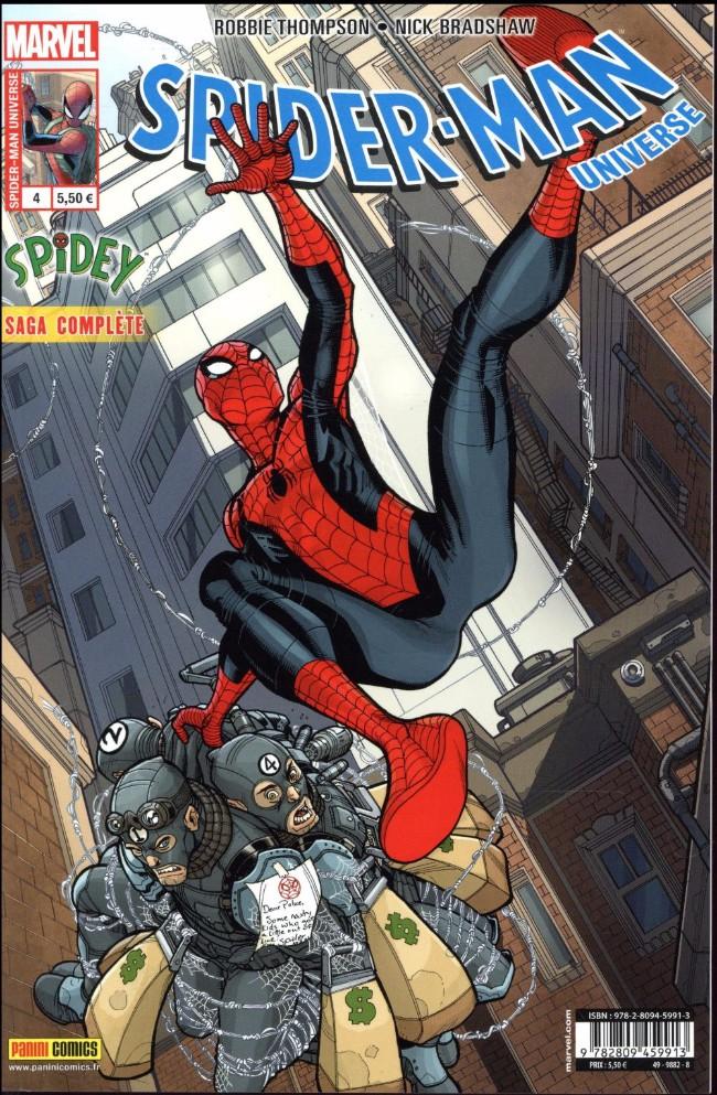Couverture de Spider-Man Universe (Marvel France 2e série) -4- Le Débutant