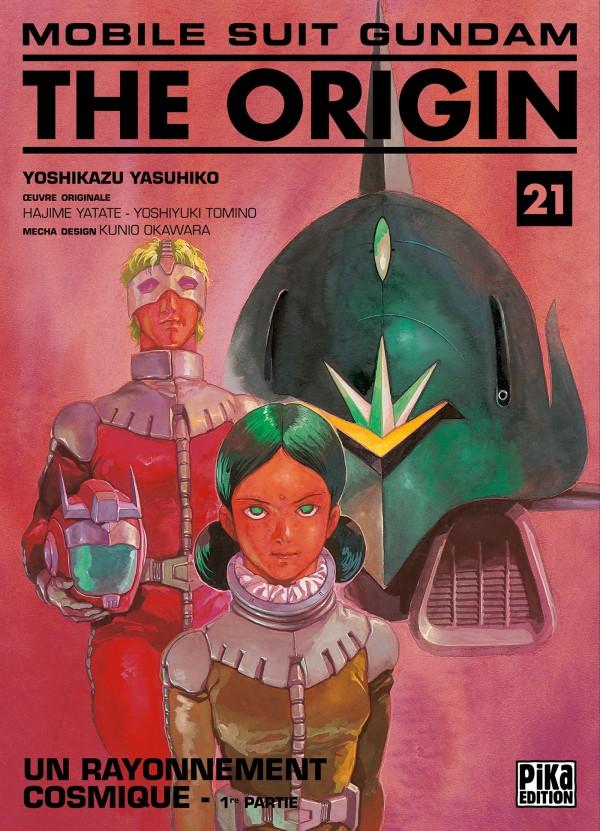 Couverture de Mobile Suit Gundam - The Origin -21- Un rayonnement cosmique - 1re partie