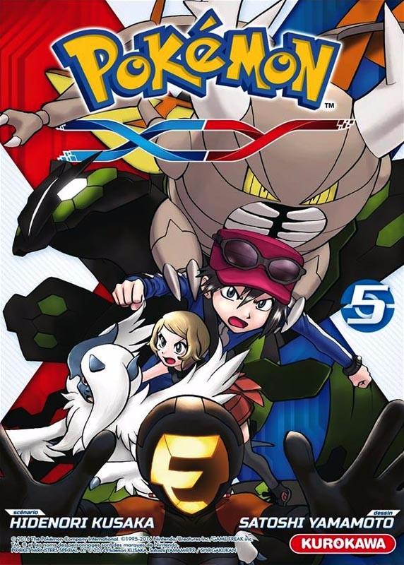 Couverture de Pokémon : XY -5- Tome 5