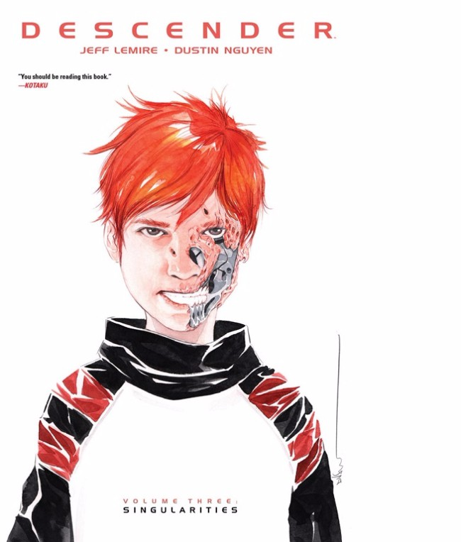 Couverture de Descender (Image comics - 2015) -INT03- Volume Three - Singularities