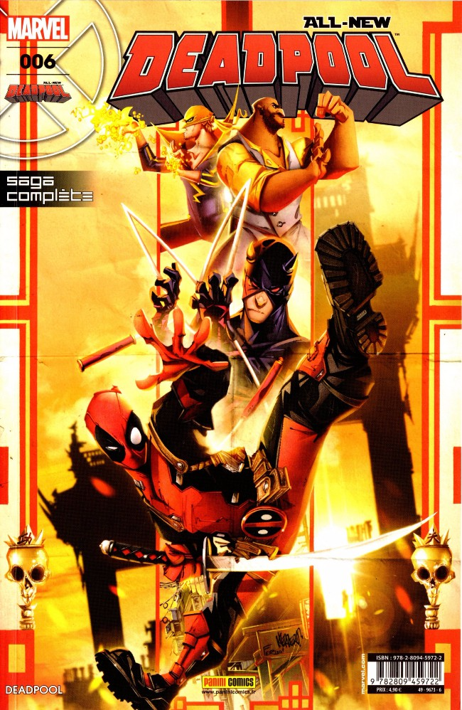 Couverture de All-New Deadpool -6- Décharge éclectique