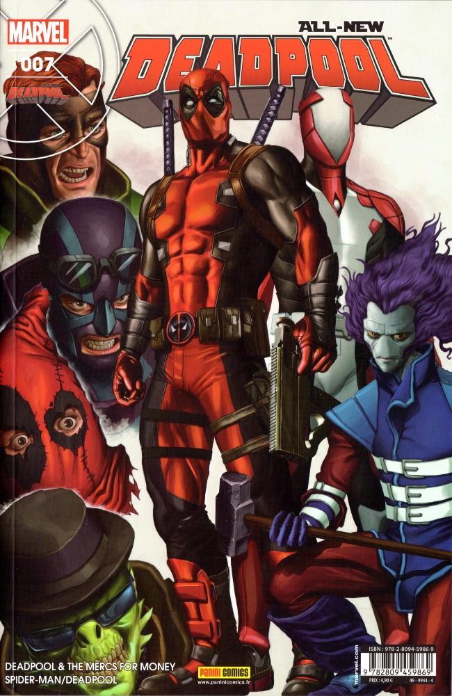 Couverture de All-New Deadpool -7- Les Pros à payer