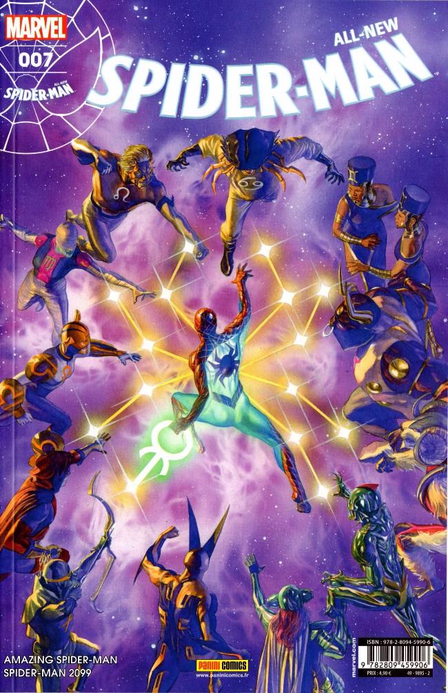 Couverture de All-New Spider-Man -7- Signes célestes