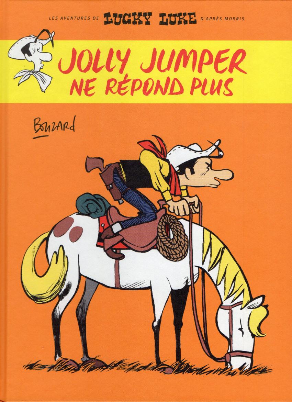 Couverture de Lucky Luke (vu par...) -2- Jolly Jumper ne répond plus