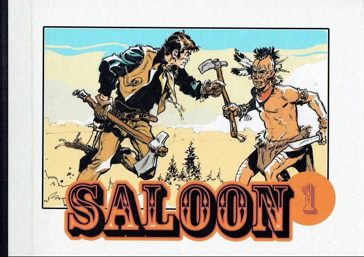 Couverture de Saloon (Collection Fumetti) -INT1- Saloon - Intégrale tome 1