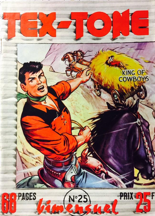 Couverture de Tex-Tone -25- Tex-Tone et la révolte cheyenne