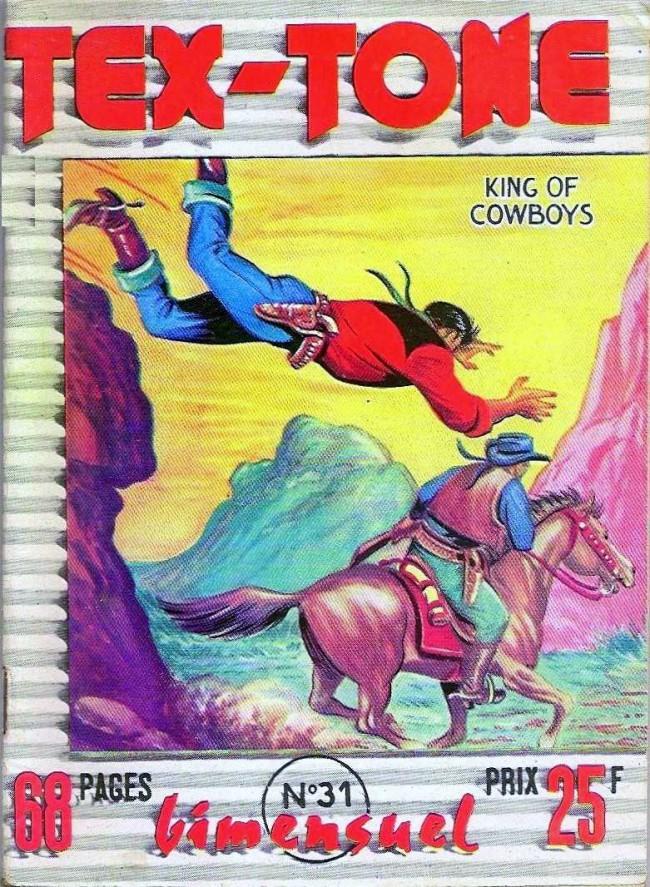 Couverture de Tex-Tone -31- Le sheriff aurait... peur!