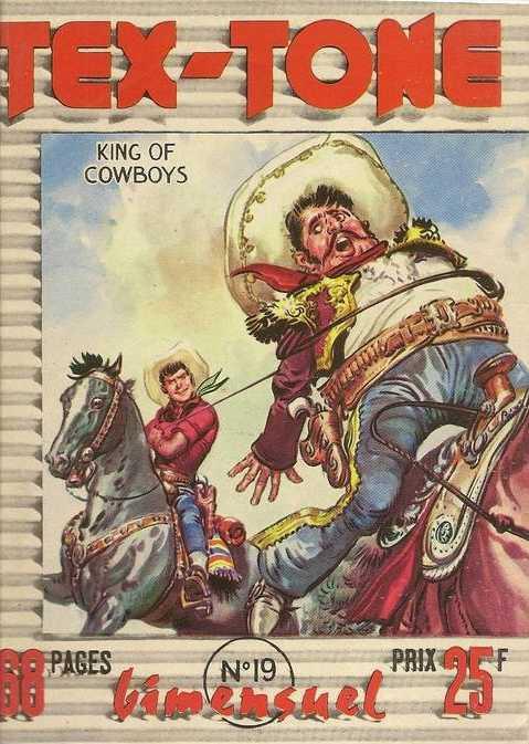 Couverture de Tex-Tone -19- Le sheriff de Killingway