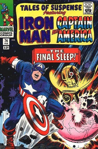 Couverture de Tales of suspense Vol. 1 (Marvel comics - 1959) -74-