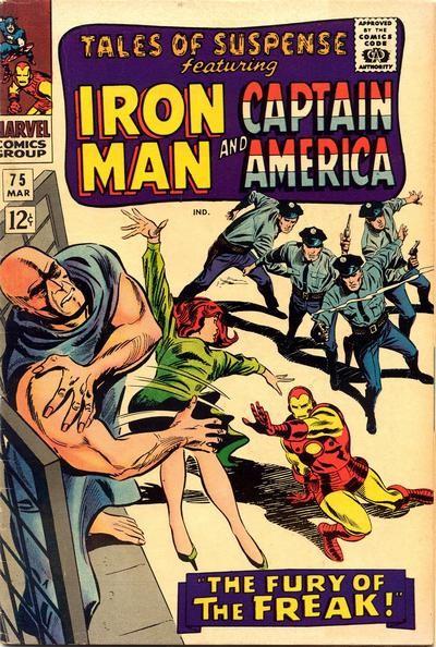 Couverture de Tales of suspense Vol. 1 (Marvel comics - 1959) -75-