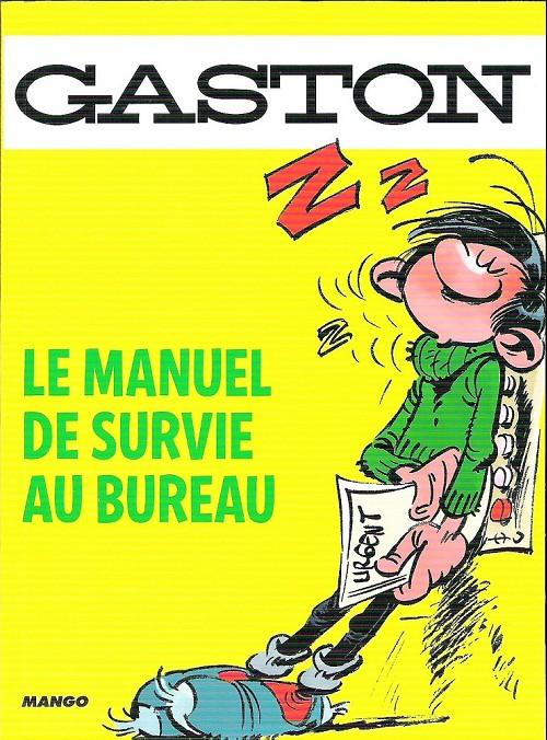 Couverture de Gaston (Hors-série) - Le manuel de survie au bureau