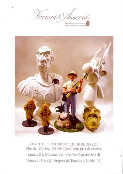 Couverture de (Catalogues) Ventes aux enchères - Vermot & Associés - Vermot & Associés - Vente de l'entier stock de BDdirect - 5 et 6 novembre 2016 - Toussus le Noble