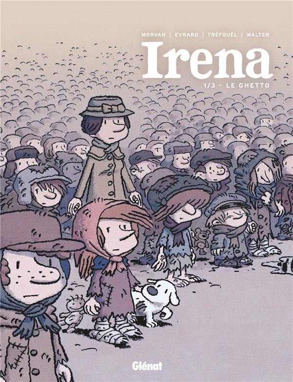 Couverture de Irena -1- Le Ghetto