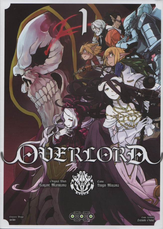 Couverture de Overlord - Tome 1
