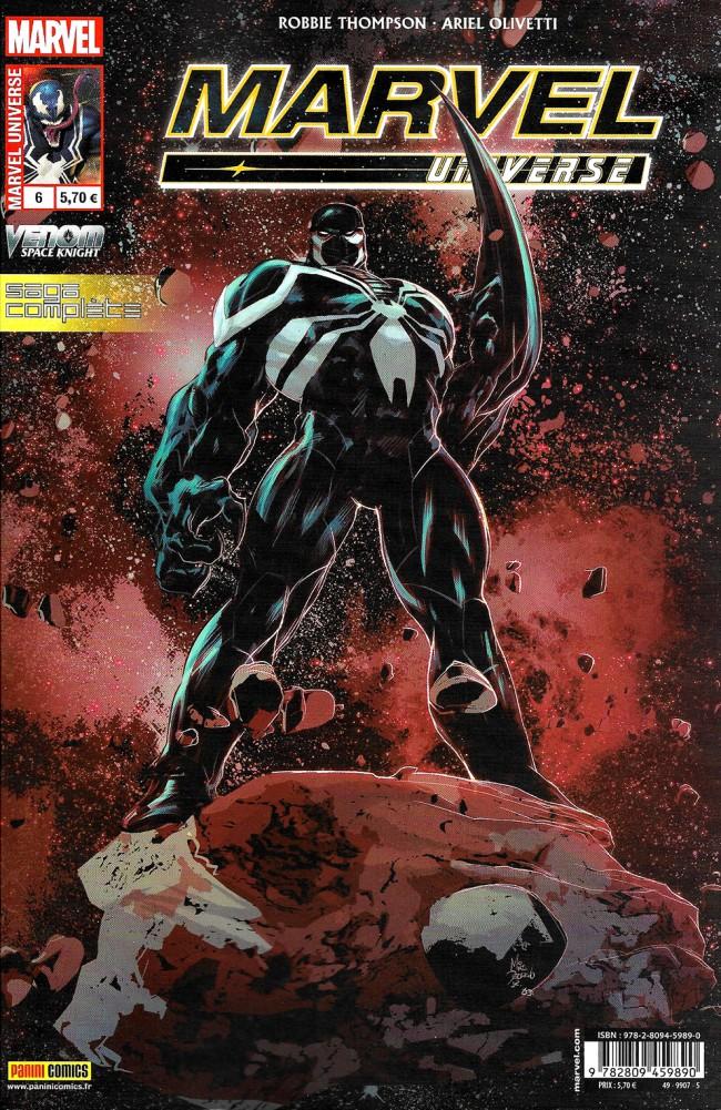 Couverture de Marvel Universe (Panini - 2016) -6- Venom : Agent du cosmos