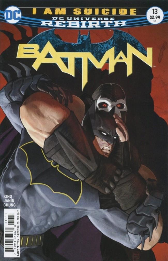 Couverture de Batman (2016) -13- I am Suicide, Part Five