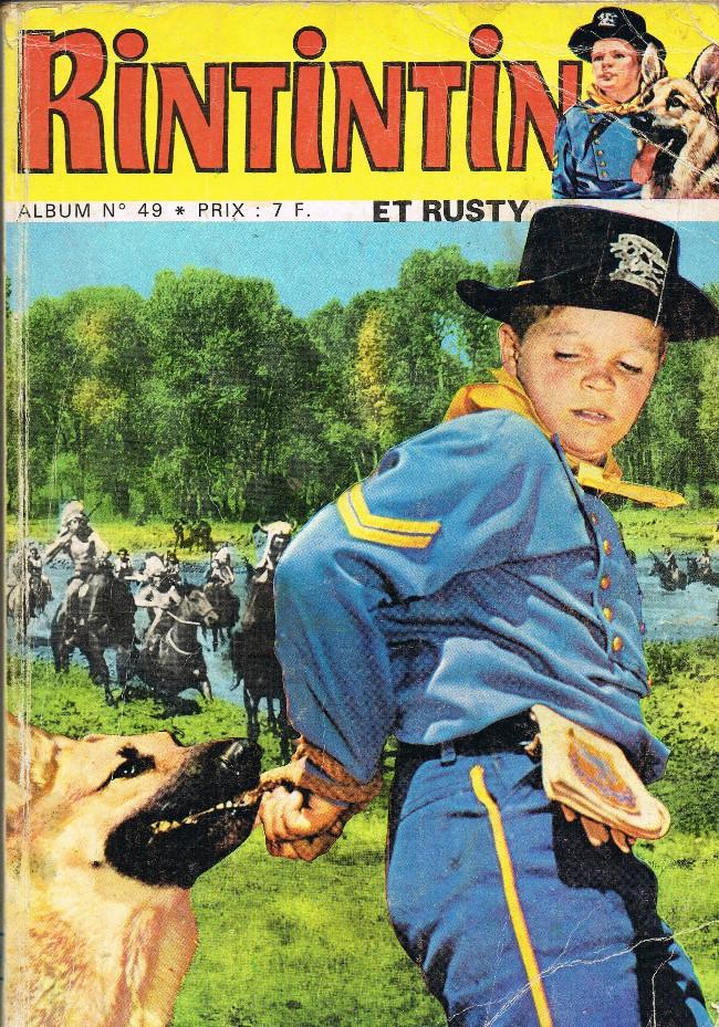 Couverture de Rin Tin Tin & Rusty (2e série) -Rec49- Album N°49 (du n°66 au n°68)