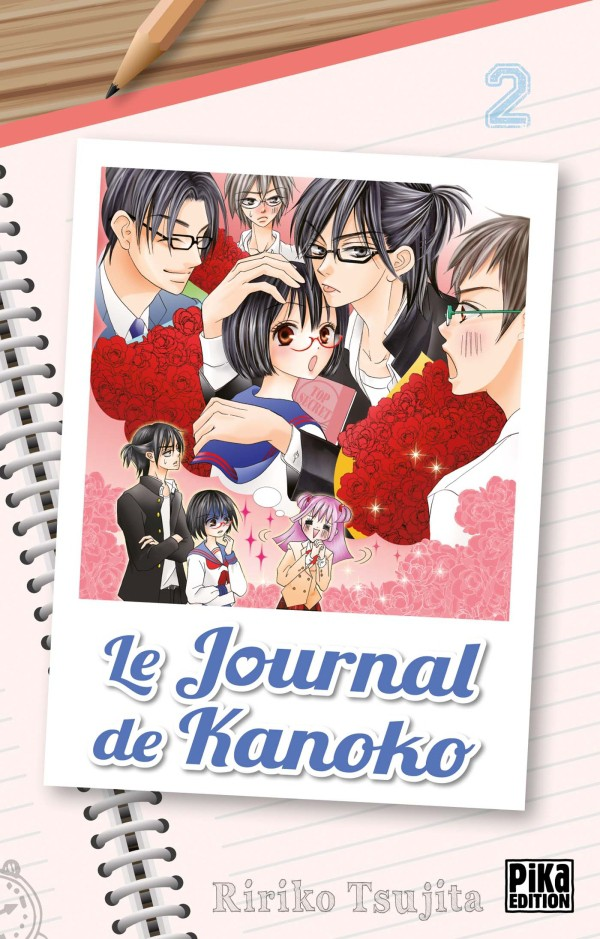 Couverture de Le journal de Kanoko -2- Tome 2