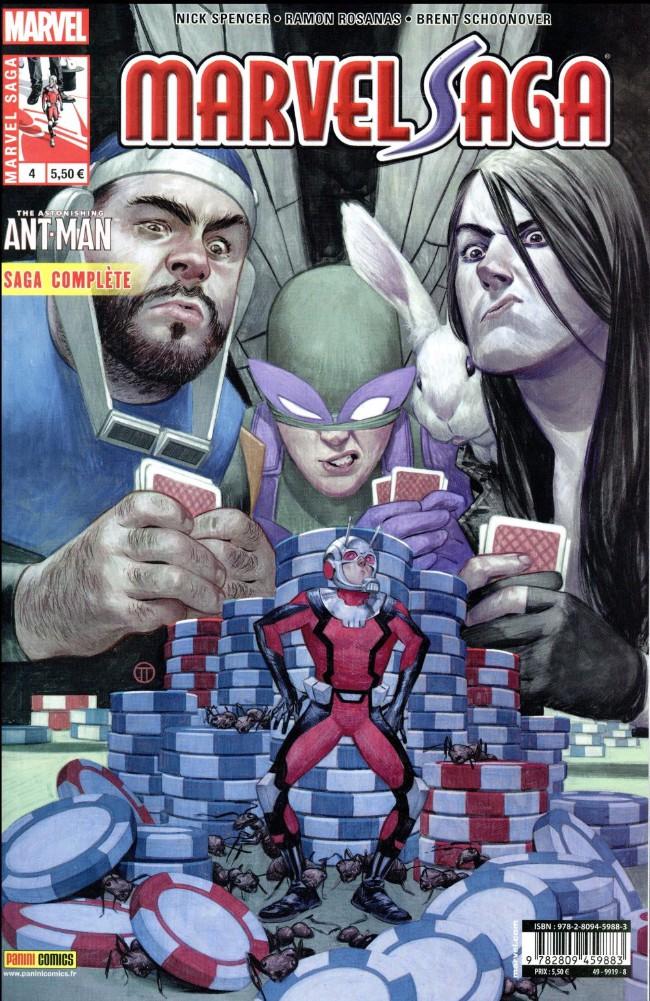 Couverture de Marvel Saga (3e série - 2016) -4- Le Casse du siècle