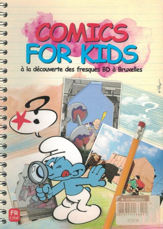 Couverture de (DOC) Études et essais divers - Comics For Kids - À la découverte des fresques BD à Bruxelles