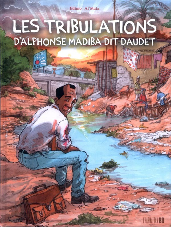 Couverture de Tribulations d'Alphonse Madiba dit Daudet (les) -INT- Les tribulations d'Alphonse Madiba dit Daudet