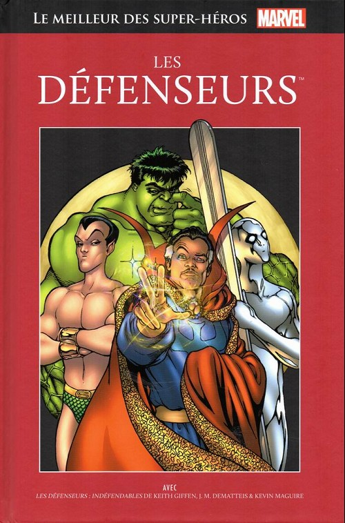 Couverture de Marvel Comics : Le meilleur des Super-Héros - La collection (Hachette) -24- Les défenseurs
