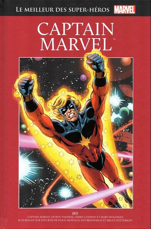 Couverture de Marvel Comics : Le meilleur des Super-Héros - La collection (Hachette) -25- Captain marvel