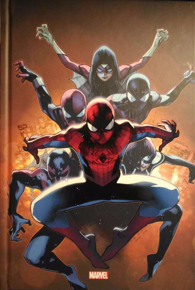 Couverture de Spider-Man : Spider-Verse - Tome Cof
