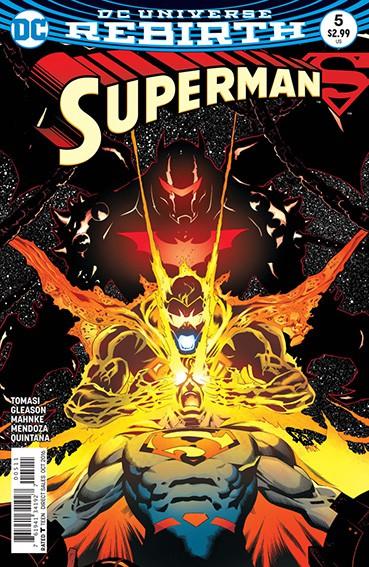 Couverture de Superman (2016) -5- Son of Superman - Part Five