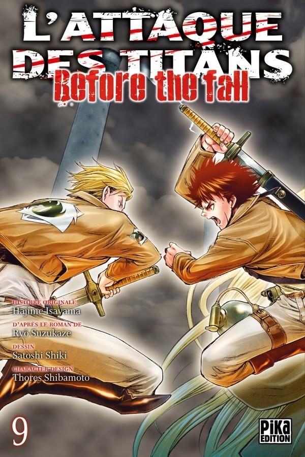 Couverture de L'attaque des Titans - Before The Fall -9- Tome 9