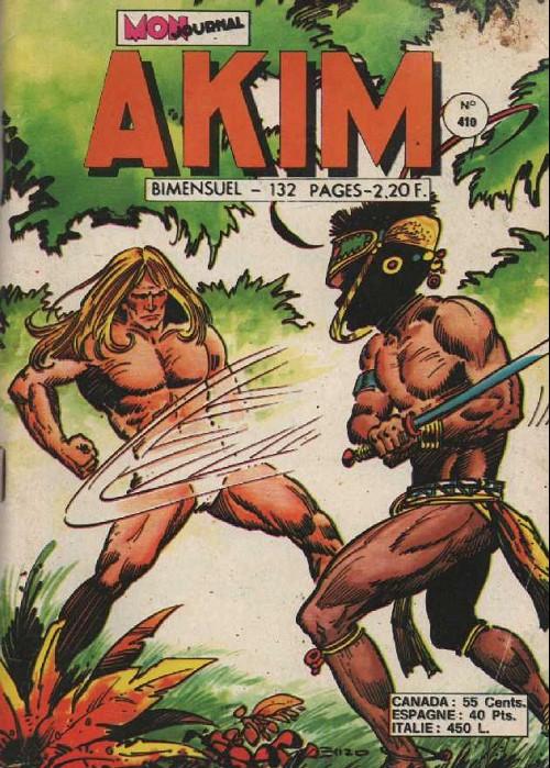 Couverture de Akim (1re série) -410- Le roi des 100 montagnes