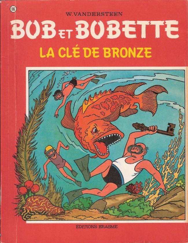 Couverture de Bob et Bobette -116- La clé de bronze