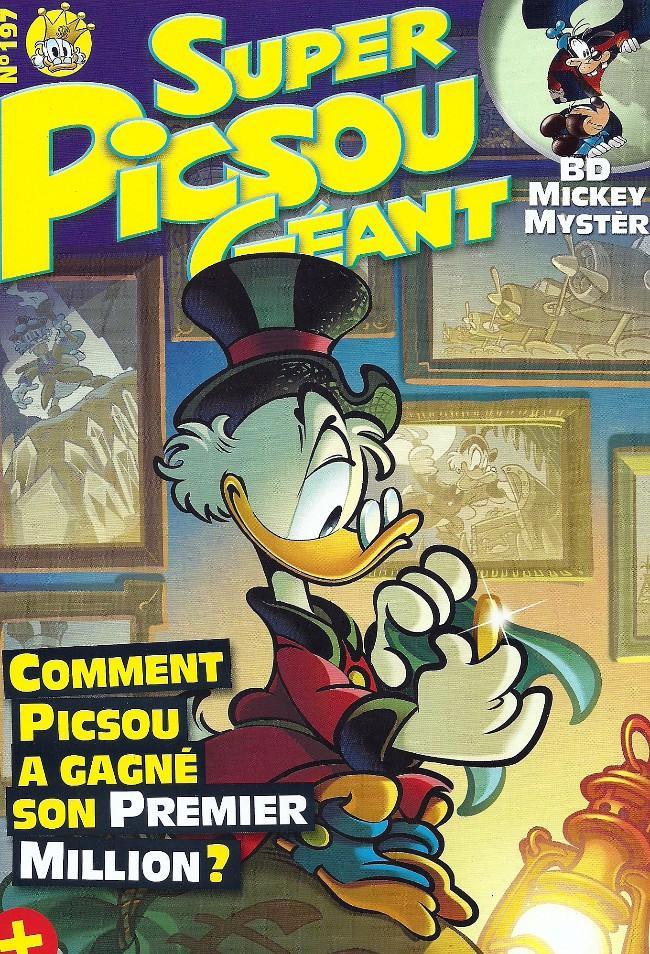 Couverture de Super Picsou Géant -197- Comment Picsou a gagné son premier million?